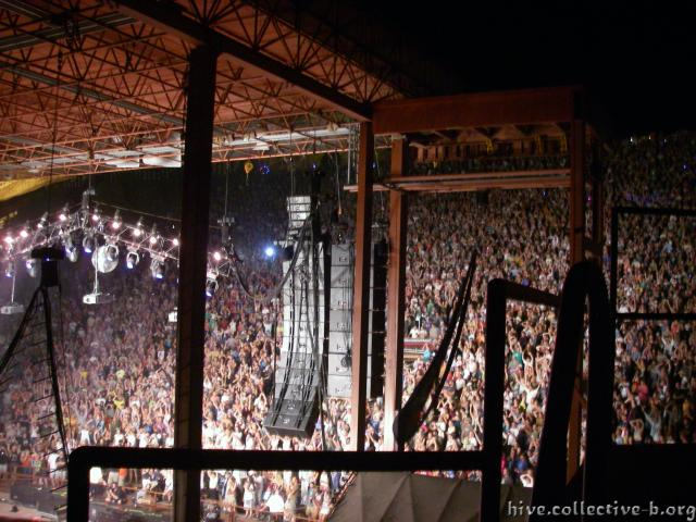 Red Rocks Stage Tower